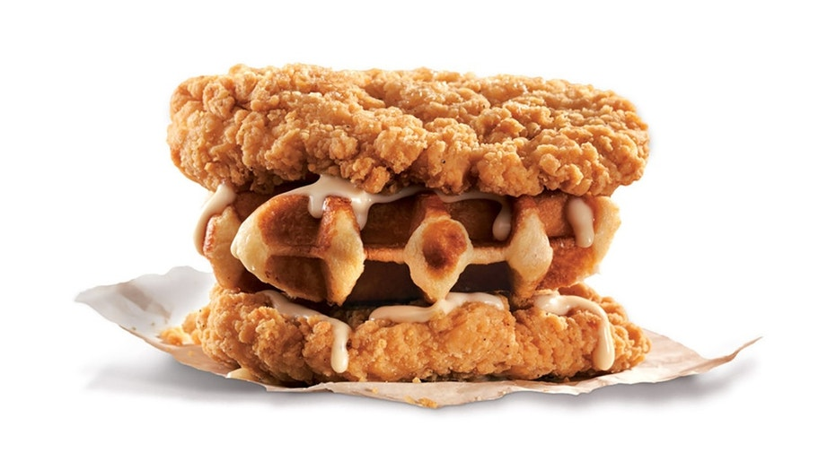 KFC's latest sandwich-where-bread-should-be creation was specially created for our neighbors up north.