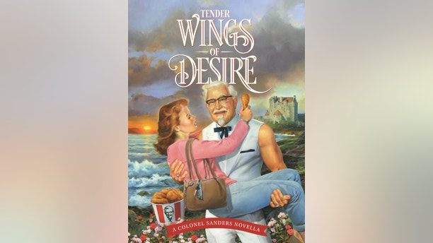 """KFC is giving moms the ultimate Mother's Day gift with its first romance novella, """"Tender Wings of Desire."""" (PRNewsfoto/KFC)"""