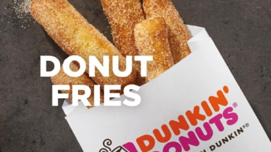 """Dunkin' Donuts introduced """"donut fries"""" and fans are loving it."""