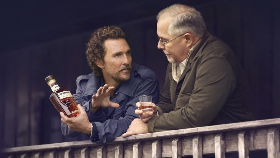 Matthew McConaughey and Eddie Russell launch Wild Turkey Longbranch.