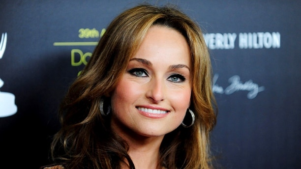 Television personality Giada De Laurentiis arrives at the 39th Daytime Emmy Awards in Beverly Hills, California June 23, 2012. REUTERS/Gus Ruelas (UNITED STATES - Tags: ENTERTAINMENT HEADSHOT) - GM1E86O0WY301