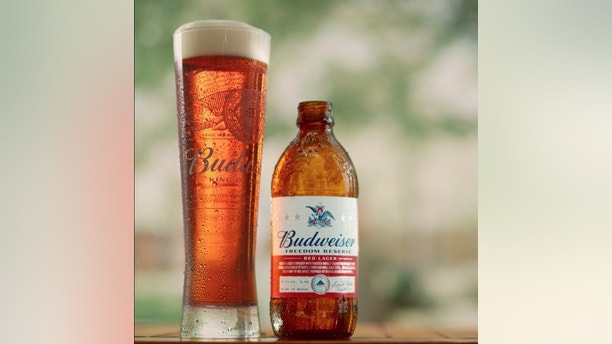 Budweiser Freedom Reserve was specially brewed by Budweiser's own veterans and a portion of proceeds sold this summer will benefit Folds of Honor (PRNewsfoto/Budweiser)