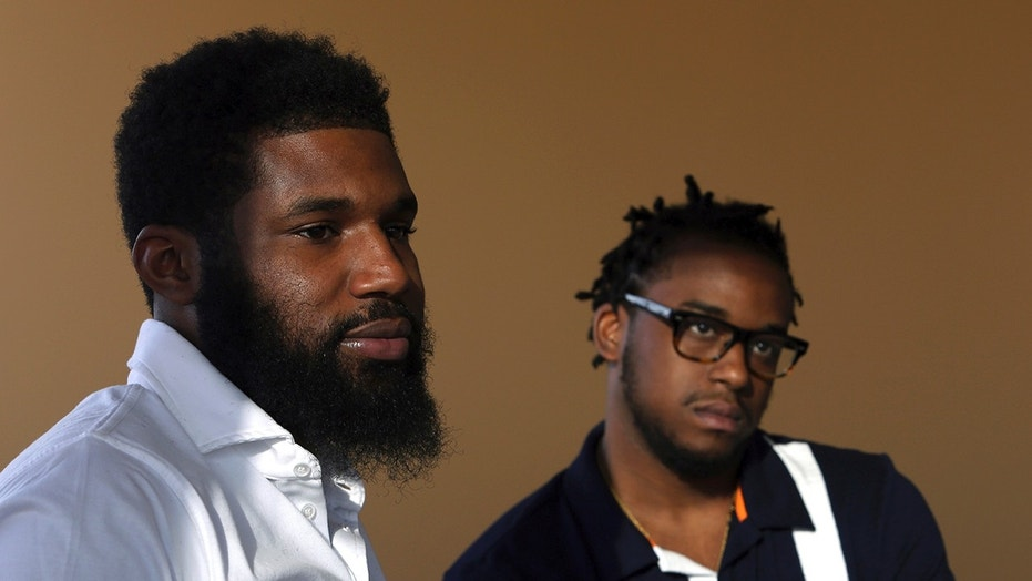 Rashon Nelson and Donte Robinson were filmed being handcuffed at a Starbucks in Philadelphia on April 12, while the two were waiting for a third friend to arrive.