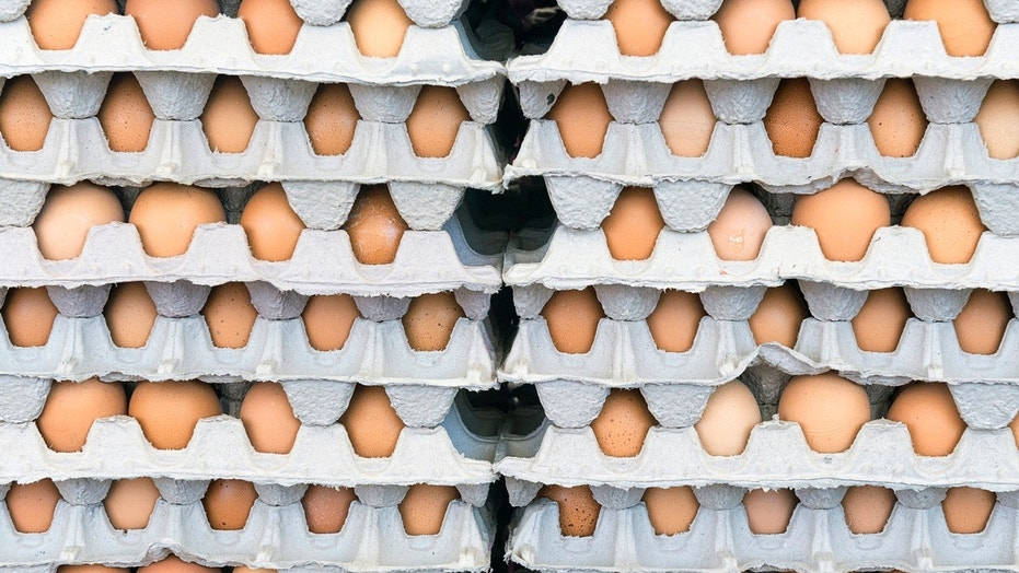 The American Journal of Clinical Nutrition says it's safe to consume more eggs than previously thought. Not quite THIS many, though.