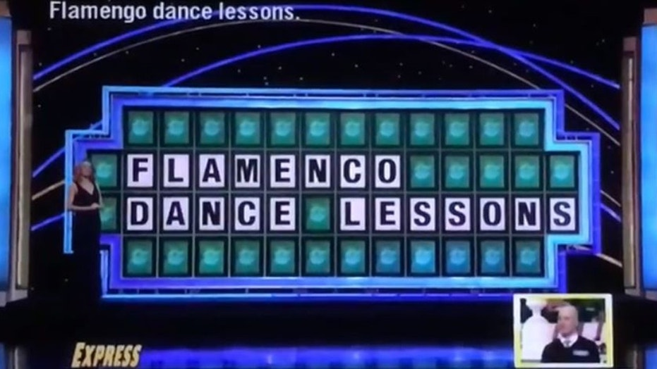 wheel fortune spain trip contestant losing abc puzzle chef offers drink food earned flub him andres jose featured