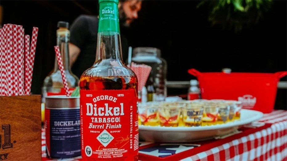 George Dickel Tennessee Whisky teamed up with McIlhenny Company's Tabasco pepper sauce to create the award-wining spirit.