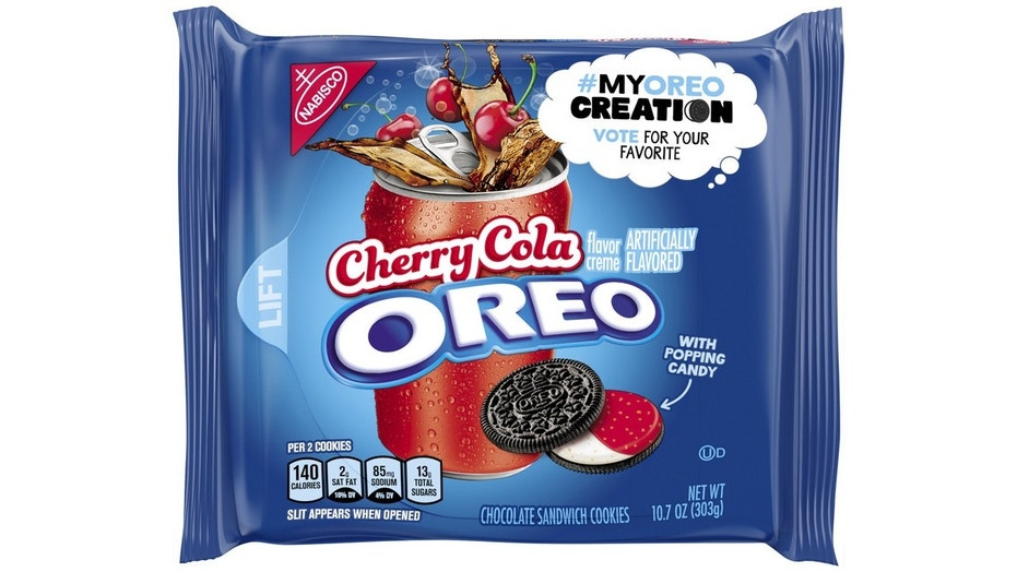 Cherry Cola was chosen as one of the finalist submissions of the My Oreo Creation contest in December.