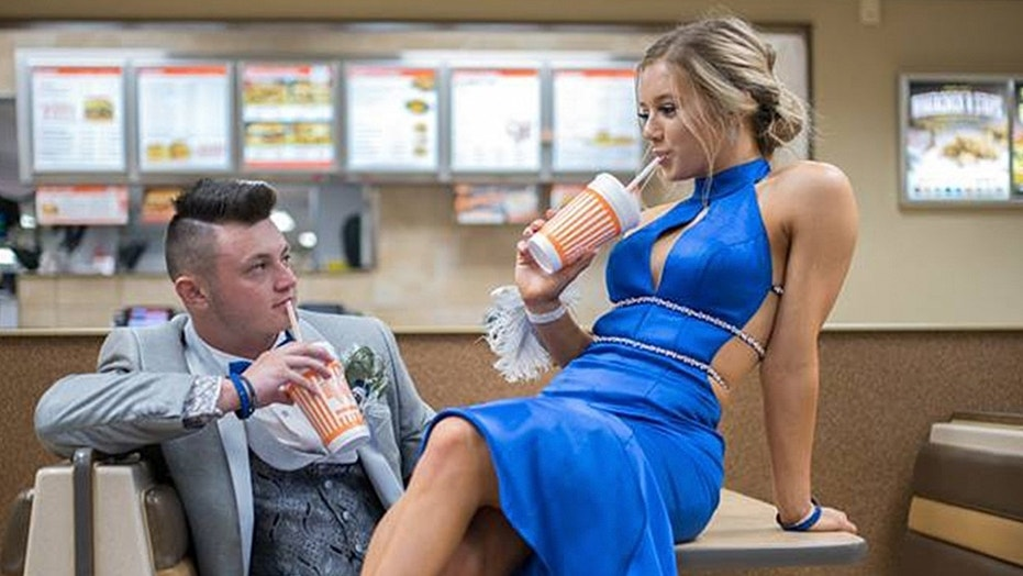 """They love Whataburger. In fact, we all do. This is the favorite hangout after school and baseball games. So it made sense to go there for the shoot."""