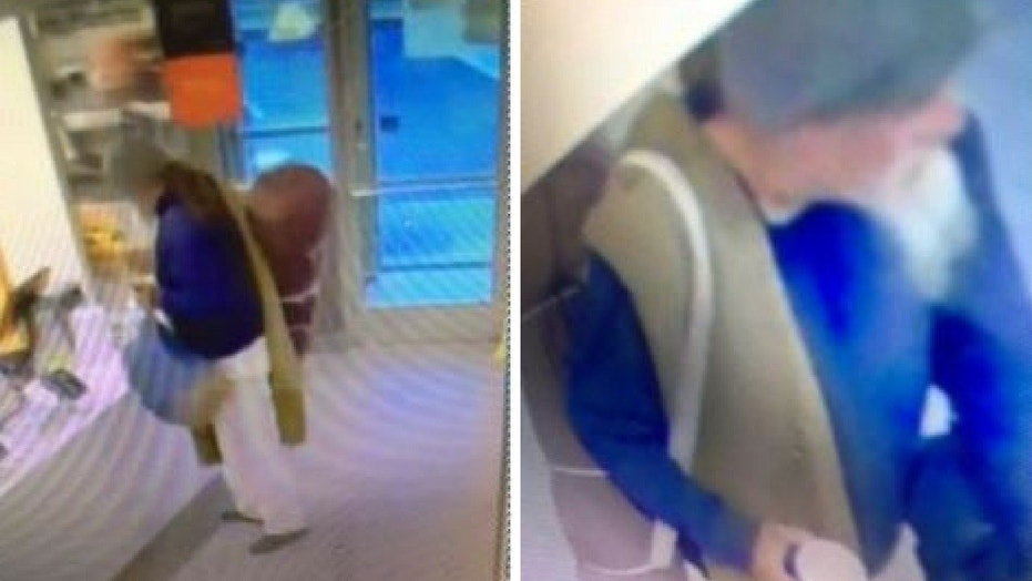 Police have asked for the public's help in finding a man who threw coffee at a McDonald's manager.