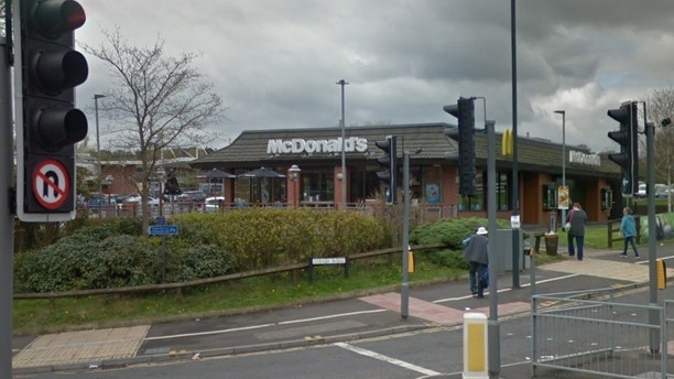 mcdonald's richmond road google street view