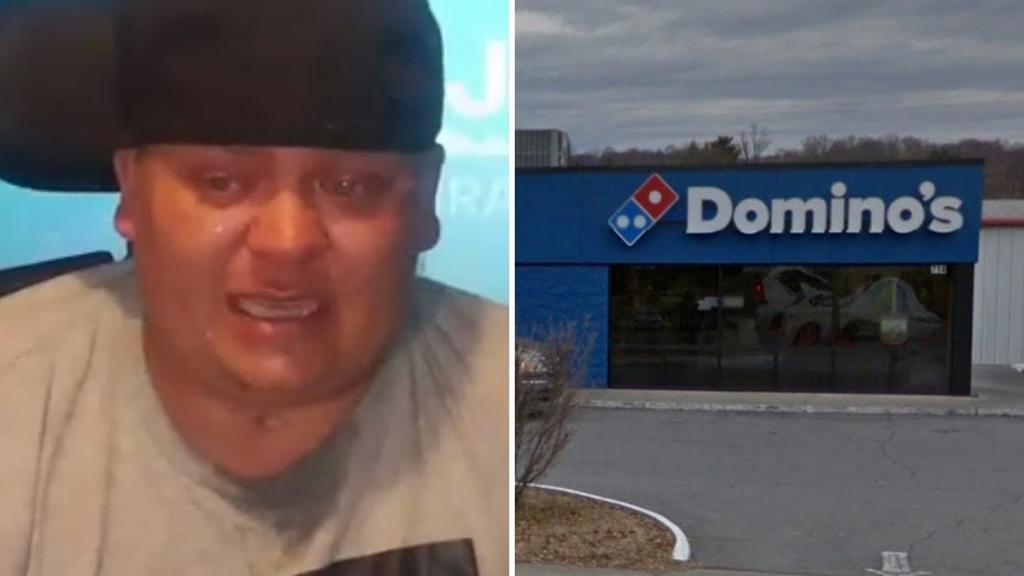 Dustin Kaywood, a paraplegic, said a Domino's employee in Tennessee discriminated against him.