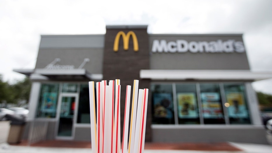 McDonald's United Kingdom  are sacking the plastic straw