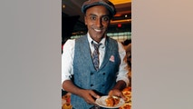 FILE- This Feb. 27, 2018, file photo, shows Chef Marcus Samuelsson in New York. Samuelsson has purchased a former pool hall in the Overtown neighborhood of Miami and plans to open a restaurant there. The redevelopment board is pouring tens of millions into restoring the historic neighborhood to its former glory. (AP Photo/Kathy Willens, File)