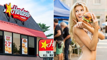 charlotte mckinney, hardees, istock, Fab Fernandez and CKE Restaurants