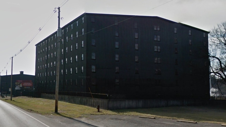 The storage facility, or rickhouse, was located at the Barton 1792 Bourbon distillery (seen above) in Bardstown, Ky.