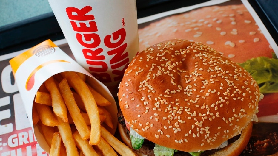 """A New Jersey couple spent their """"golden anniversary"""" at a Burger King."""