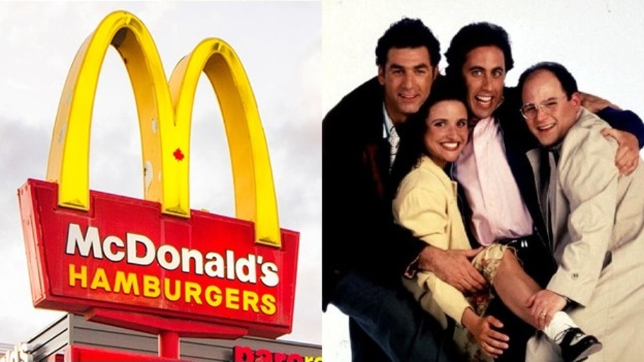 Spike Feresten, who wrote an episode centered on muffin tops, wants McDonald's to pay up.