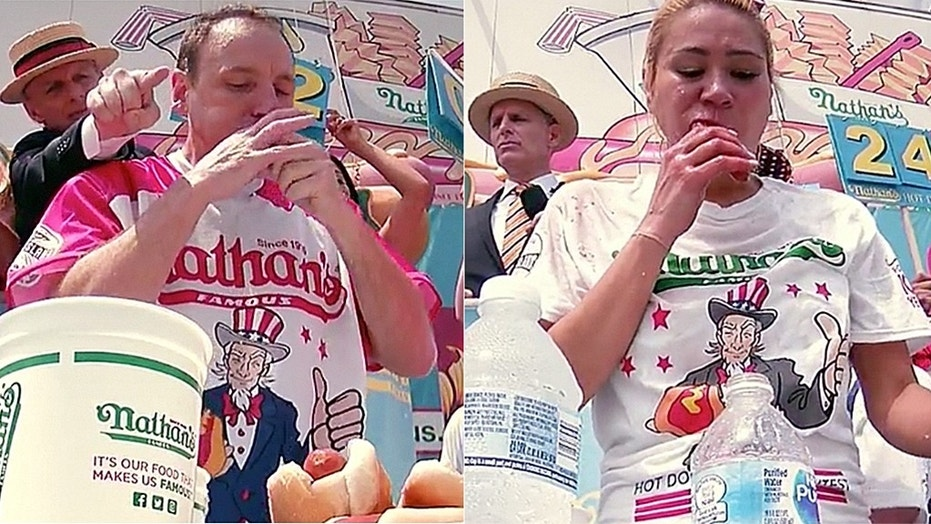 Joey Chestnut and Miki Sudo won this year's Nathan's Hot Dog Eating Contest.