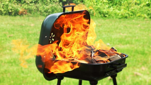 grill lid istock