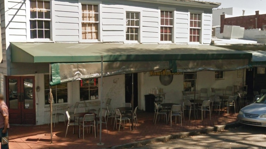 A waitress at a restaurant called Vinnie Van Go-Go's, in Savannah, Ga., served up a whooping to a disrespectful patron.
