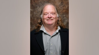 """In this Jan. 26, 2015 photo, Jonathan Gold, from the movie """" CITY OF GOLD"""" poses at the L.A. Times photo & video studio at the Sundance Film Festival, in Park City, Utah. Gold, who became the first restaurant critic to win the Pulitzer Prize for criticism, has died. He was 57. The Los Angeles Times, where Gold most recently worked, reported that he died Saturday, July 21, 2018, after being diagnosed earlier this month with pancreatic cancer. (Jay L. Clendenin /Los Angeles Times via AP)"""