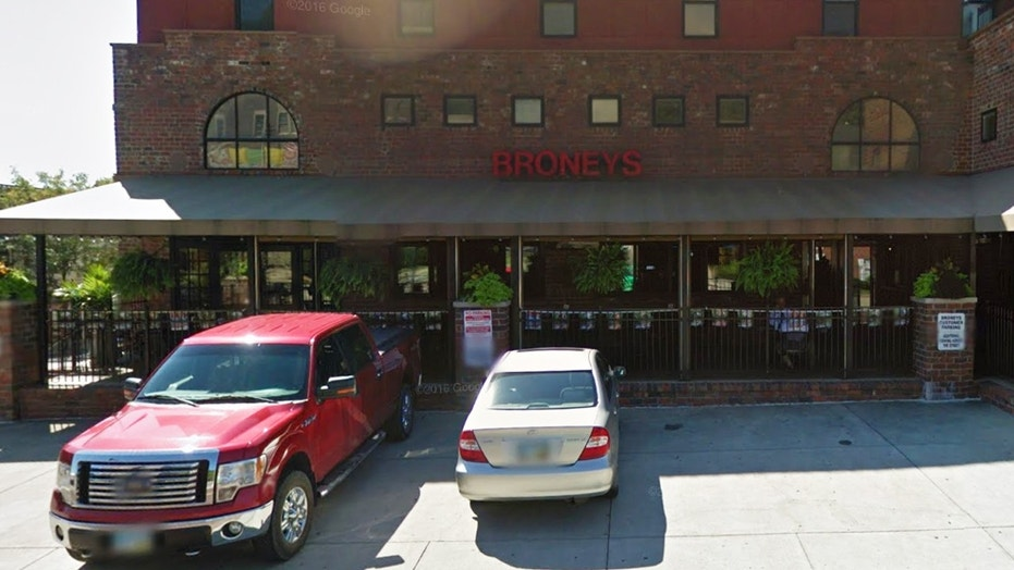 """Broney's Alumni Grill in Ohio is facing backlash for posting an """"offensive"""" sign."""