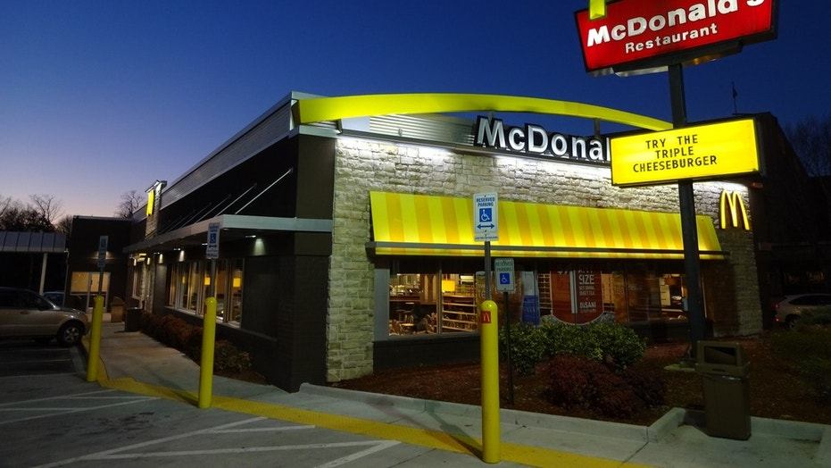 A McDonald's employee and a customer went at it in a viscous fight.