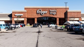 Noblesville - Circa March 2018: Kroger Supermarket. The Kroger Co. is One of the World's Largest Grocery Retailers V