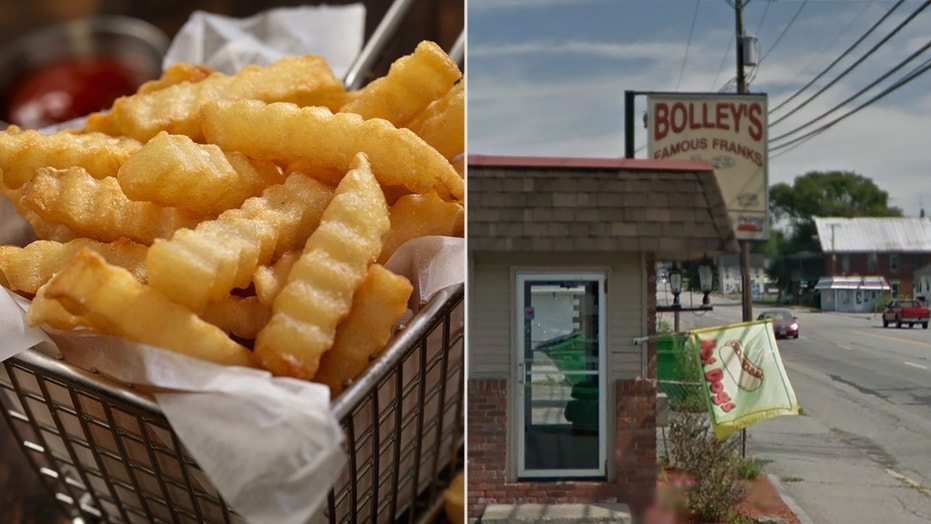 Leslie and Jim Parsons, owners of Bolley's Famous Franks in Waterville, made a statement addressing the controversy.