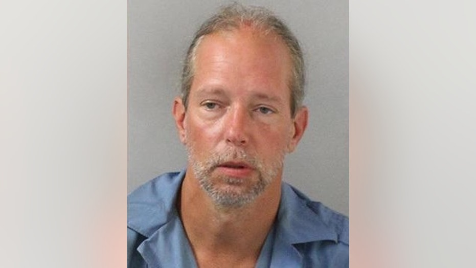 Jeffrey Tomerlin, 45, was arrested after allegedly throwing a biscuit at his ex-girlfriend.