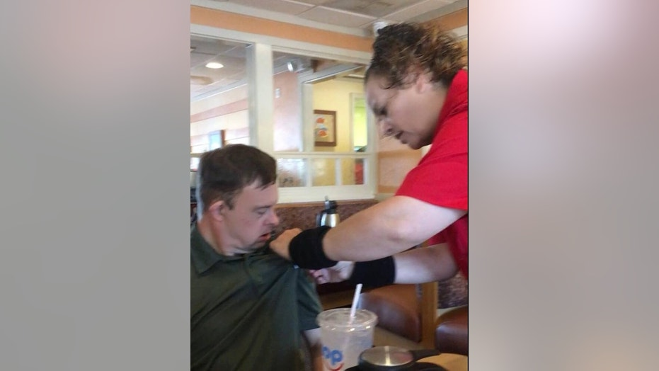 One Texas IHOP server's act of kindness has since gone viral online.
