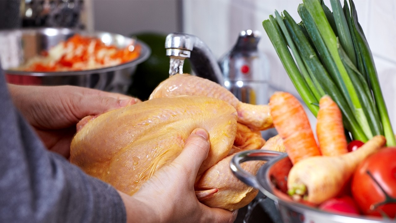 Why you should never wash chicken before cooking it