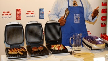 George Foreman Grill Anthony Harvey Getty Images 2001