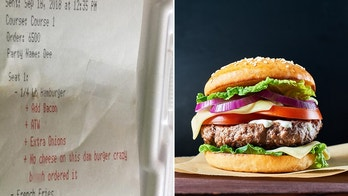 receipt burger alabama, facebook/jess marie, istock