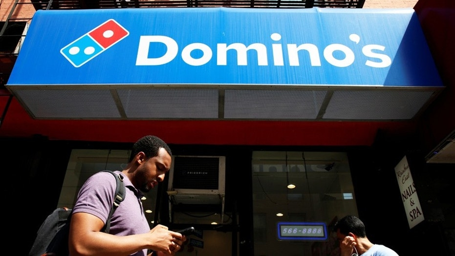 A Domino's driver in Alabama was the recipient of the church group's good deed.