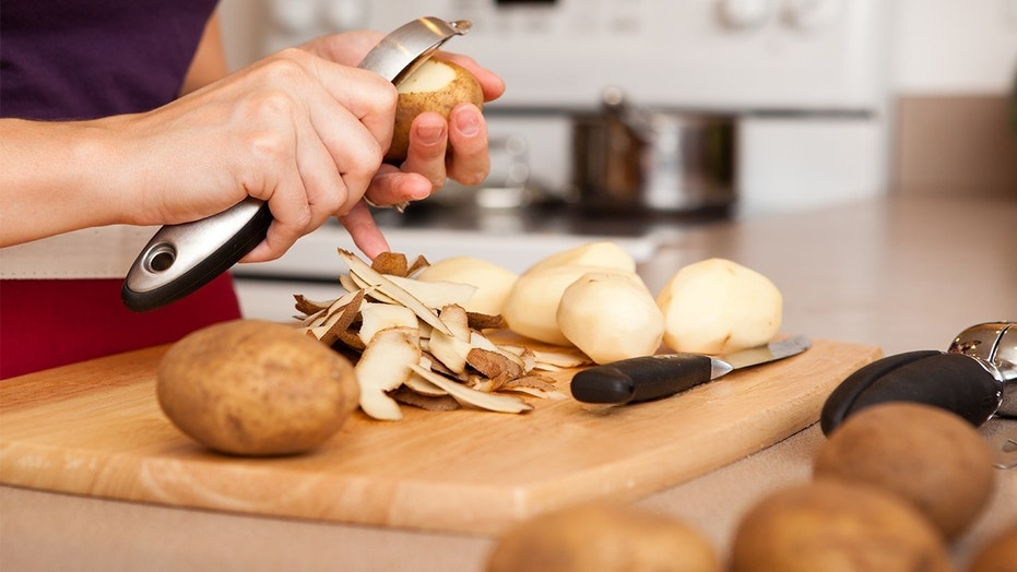 Keep potatoes from turning brown with this easy trick.