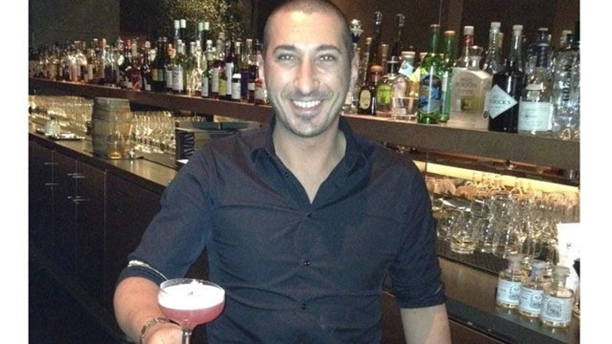 Carlo Splendorini, lead bartender at San Francisco's Michael Mina, with Bitter Sweet Winter .