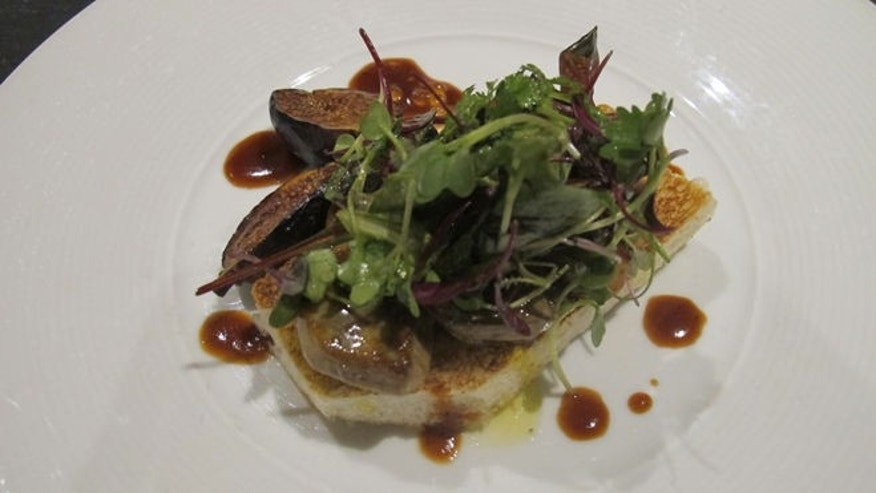 Pan-Seared Hudson Valley Foie Gras on Toasted Foccaccia | Recipes ...