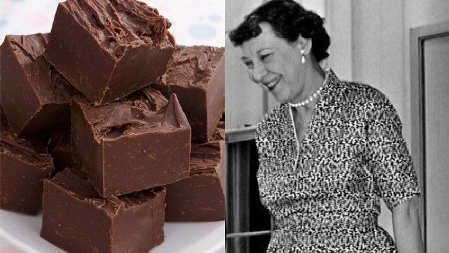 Favorite recipe of First lady Mamie Eisenhower.