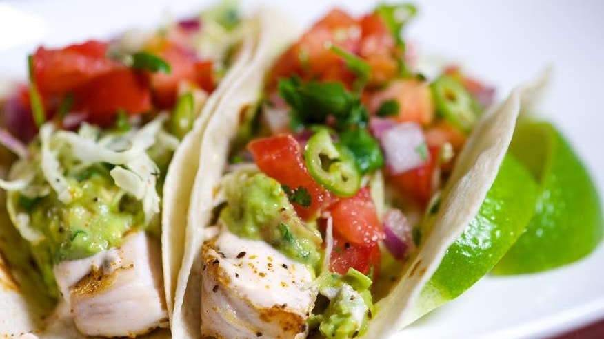Spicy with a little citrus tang, these fish tacos are perfect for a summer fiesta.