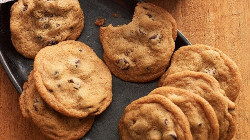 These chunky cookies have a softer center.