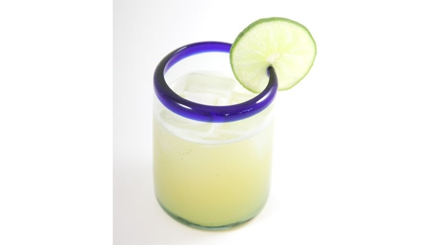 Lime and vanilla make for one smooth cocktail.