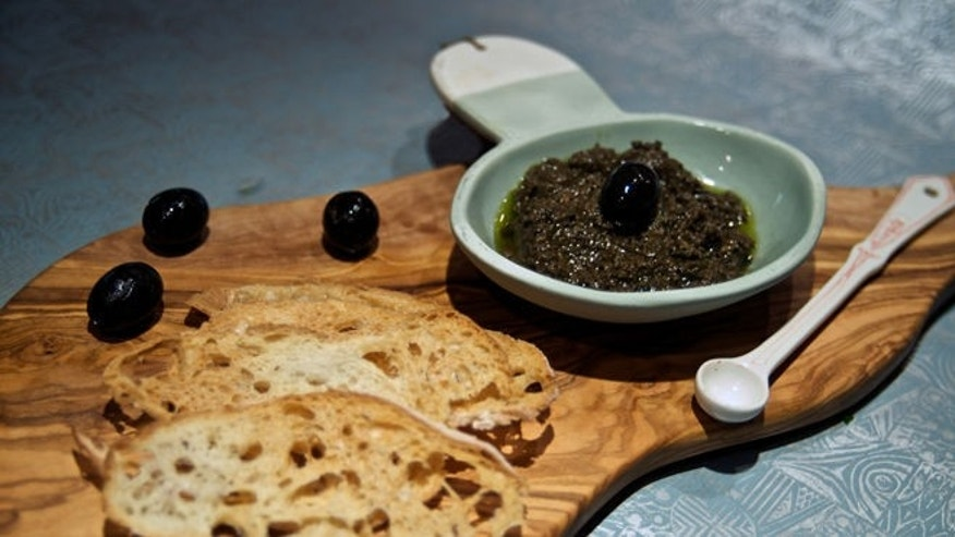 This tapenade is a zesty, briny yet versatile starter.