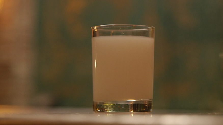 Raki is known as lion's milk, or milk of the brave.