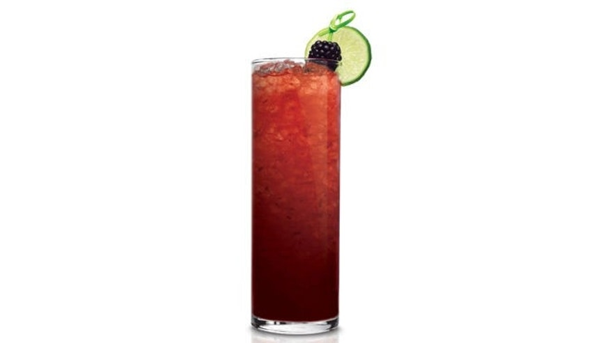 A berry infused tequila sipper.
