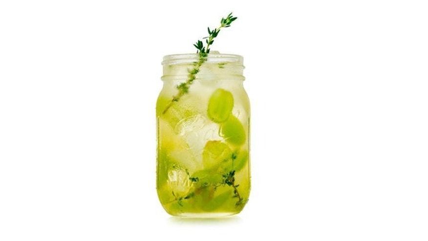 Serve this refresher in a mason jar for a homey feel.