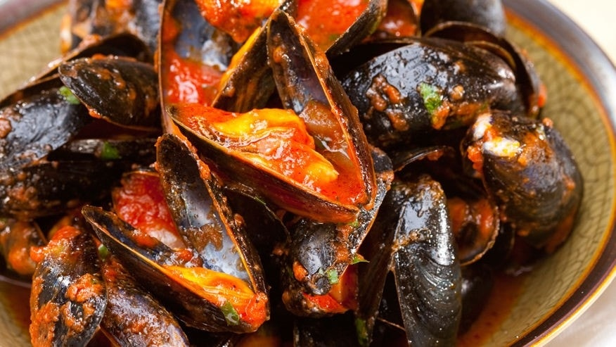 These mussels get a makeover with original Tenayo Salsa.