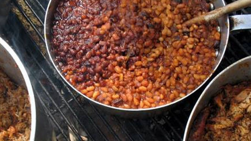 No barbecue is complete without a pot of baked beans.