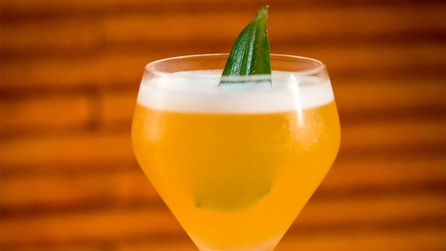 Enjoy this pineapple infused drink when the mood strikes.