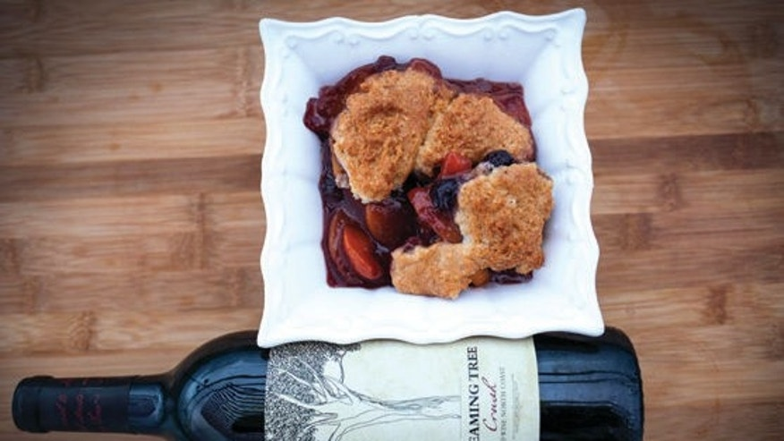This berry cobbler is to die for. Enjoy with ice cream.